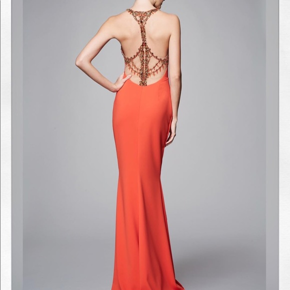 021fdcd0 Marchesa Dresses | New Notte Embellished Evening Gown 4 | Poshmark